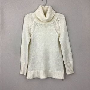 Anthropologie Ruby Moon Wool Blend Turtleneck Sz S